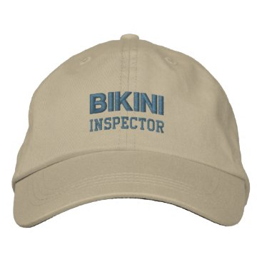 Professional Business BIKINI INSPECTOR cap (monotone)