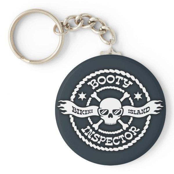 Bikini Island Booty Inspector Keychain