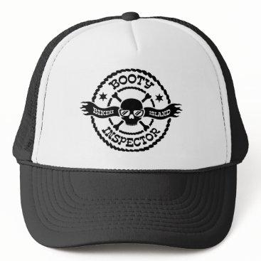 Aztec Themed Bikini Island Booty Inspector Trucker Hat
