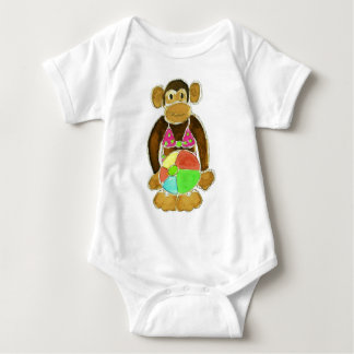 Bikini Monkey Baby Bodysuit