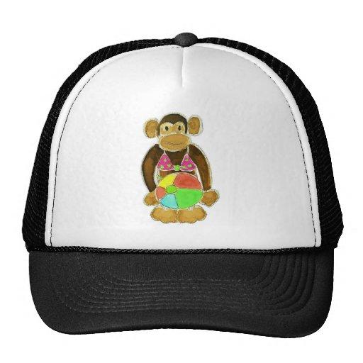 Bikini Monkey Mesh Hats