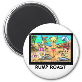Bikini Rump Roast Funny Offbeat Tees & Gifts Fridge Magnets