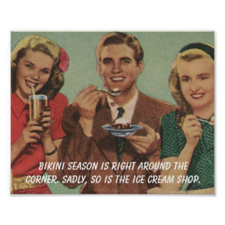 Bikini Season Print