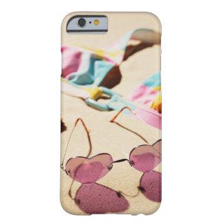 Bikini Top And Heart Shape Sunglasses On Beach Barely There iPhone 6 Case