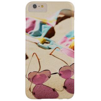 Bikini Top And Heart Shape Sunglasses On Beach Barely There iPhone 6 Plus Case