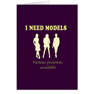 Bikini top models card