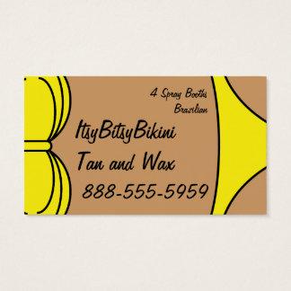 Bikini Yellow Business Card