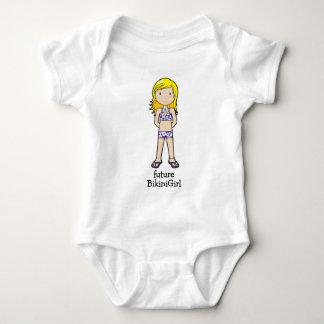BikiniGirl Baby Bodysuit