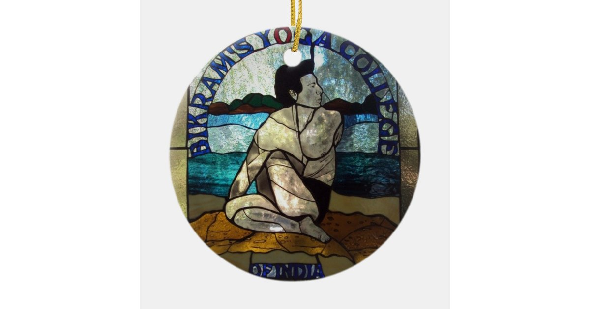 Bikram Yoga Hanging Ornament Zazzle Com