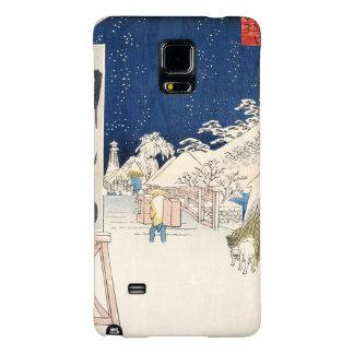 Bikuni Bridge in Snow Galaxy Note 4 Case