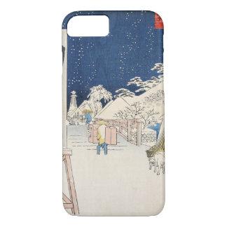 Bikuni Bridge in Snow iPhone 7 Case