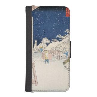 Bikuni Bridge in Snow iPhone SE/5/5s Wallet