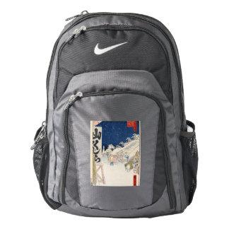 Bikuni Bridge in Snow Nike Backpack