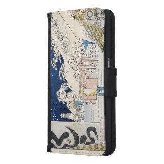Bikuni Bridge in Snow Wallet Phone Case For Samsung Galaxy S6