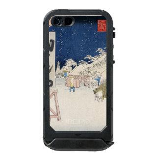 Bikuni Bridge in Snow Waterproof iPhone SE/5/5s Case