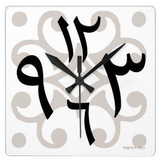 Bilal Arabic Clock