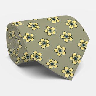 Bilateral floral hawaiano del hibisco moderno corbatas personalizadas