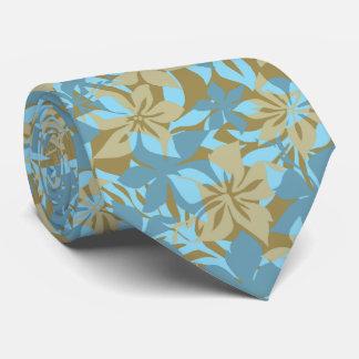 Bilateral hawaiano de Kaanapali Camo impreso Corbata Personalizada