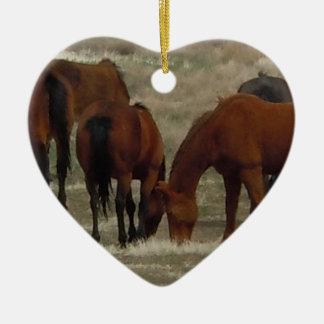 Bilateral occidental de trabajo de los caballos de ornamento para reyes magos