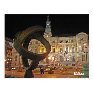 Bilbao Town Hall Postcards