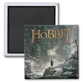 Bilbo at Erebor Fridge Magnet