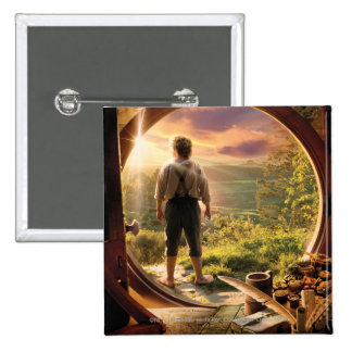 Bilbo Back in Shire Collage Buttons