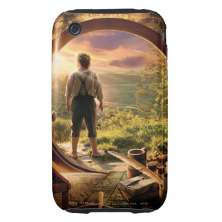 Bilbo Back in Shire Collage iPhone 3 Tough Cover