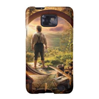 Bilbo Back in Shire Collage Galaxy S2 Case