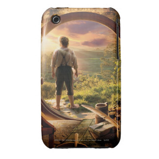 Bilbo Back in Shire Collage iPhone 3 Cases