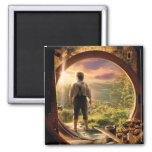 BILBO BAGGINS™ Back in Shire Collage 2 Inch Square Magnet