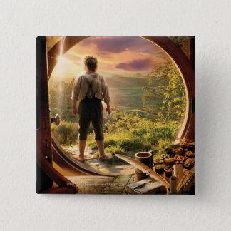 BILBO BAGGINS™ Back in Shire Collage Button