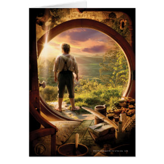 BILBO BAGGINS™ Back in Shire Collage Cards