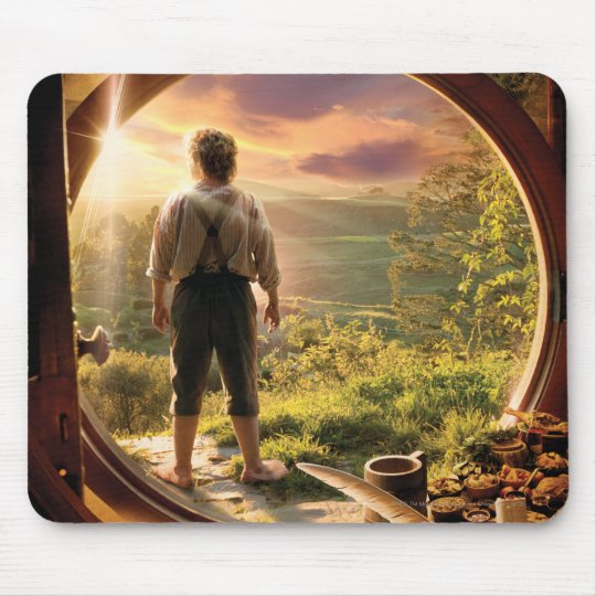 BILBO BAGGINS™ Back in Shire Collage Mouse Pad