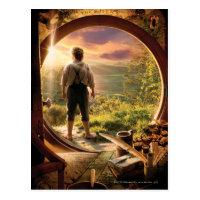 BILBO BAGGINS™ Back in Shire Collage Postcard