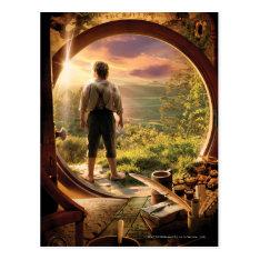 Bilbo Baggins™ Back In Shire Collage Postcard at Zazzle