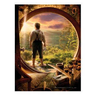 BILBO BAGGINS™ Back in Shire Collage Postcard