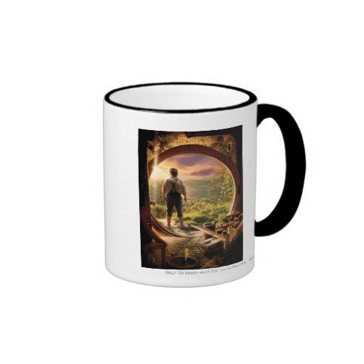 BILBO BAGGINS™ Back in Shire Collage Ringer Mug