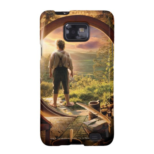 BILBO BAGGINS™ Back in Shire Collage Samsung Galaxy SII Cover