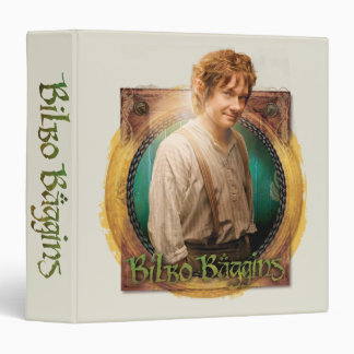 BILBO BAGGINS™ Character with Name 3 Ring Binder