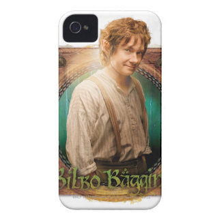 BILBO BAGGINS™ Character with Name Case-Mate iPhone 4 Case