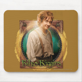 BILBO BAGGINS™ Character with Name Mouse Pad