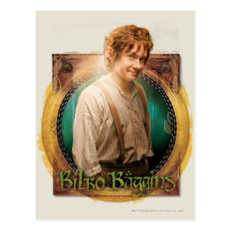 BILBO BAGGINS™ Character with Name Post Card