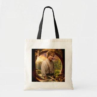 BILBO BAGGINS™ in Shire Collage Budget Tote Bag