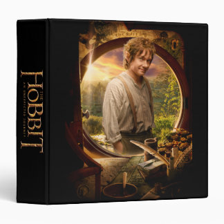 BILBO BAGGINS™ in Shire Collage 3 Ring Binder