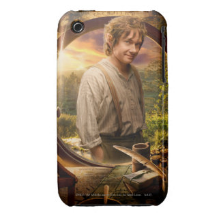 BILBO BAGGINS™ in Shire Collage Case-Mate iPhone 3 Case