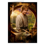 BILBO BAGGINS™ in Shire Collage Greeting Card