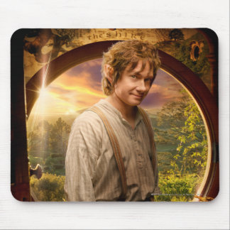 BILBO BAGGINS™ in Shire Collage Mouse Pads