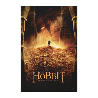 BILBO BAGGINS™ in the Eye of SMAUG™ Canvas Print