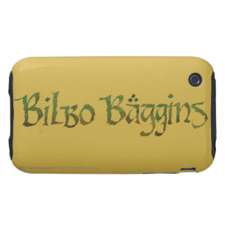 BILBO BAGGINS™ Textured iPhone 3 Tough Case