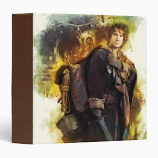 BILBO BAGGINS™ & The Company of Dwarves Graphic 3 Ring Binders